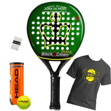 Palas de padel Black Crown Puma 2017