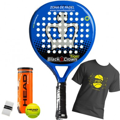 Palas de padel Black Crown Tiger 2017