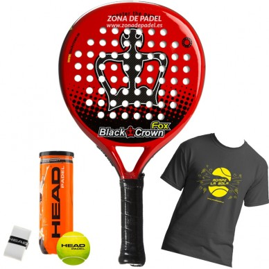Palas de padel Black Crown Fox 2017