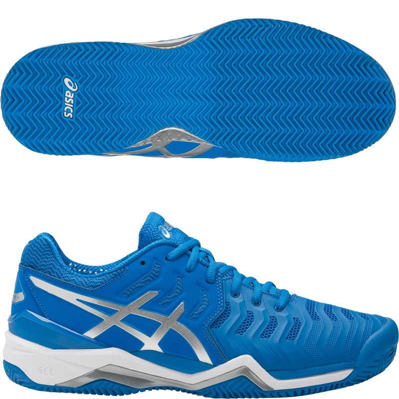 Zapatillas Asics Gel Resolution 7 Clay Directoire Blue 2017