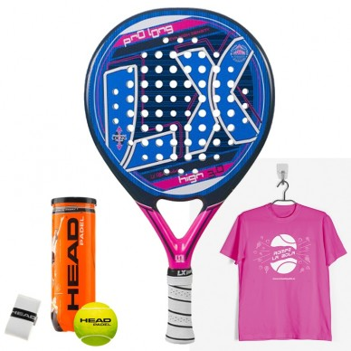 Palas de padel LX  Pro Long High 3.0 2016