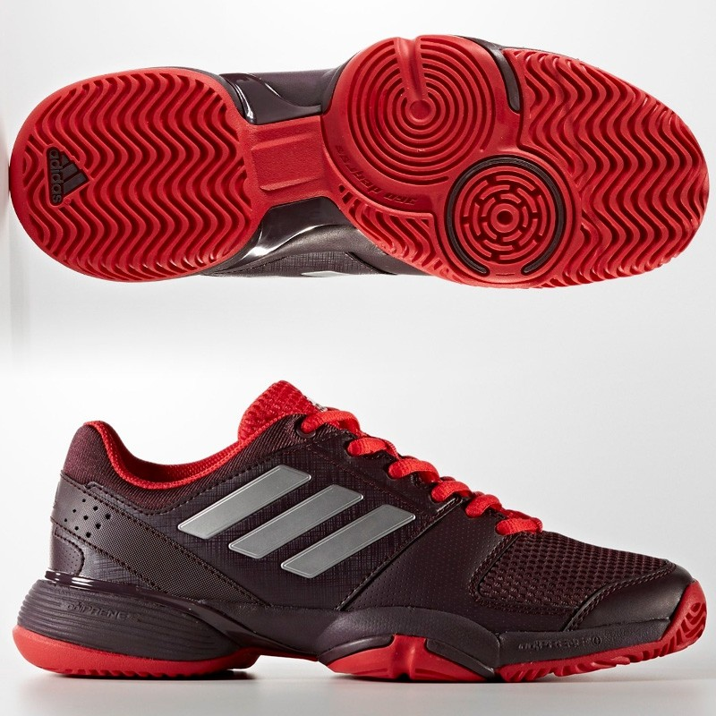 Zapatillas Adidas Barricade Club XJ DRKBUR/MSILVER 2017