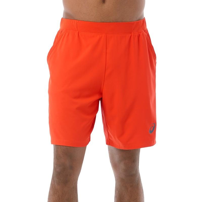 Pantalon Asics Padel Short 7In Red Clay 2017