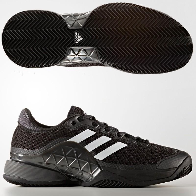 Zapatilla Adidas Barricade 2017 Clay Cblack/Ngtmet/Ftwwht