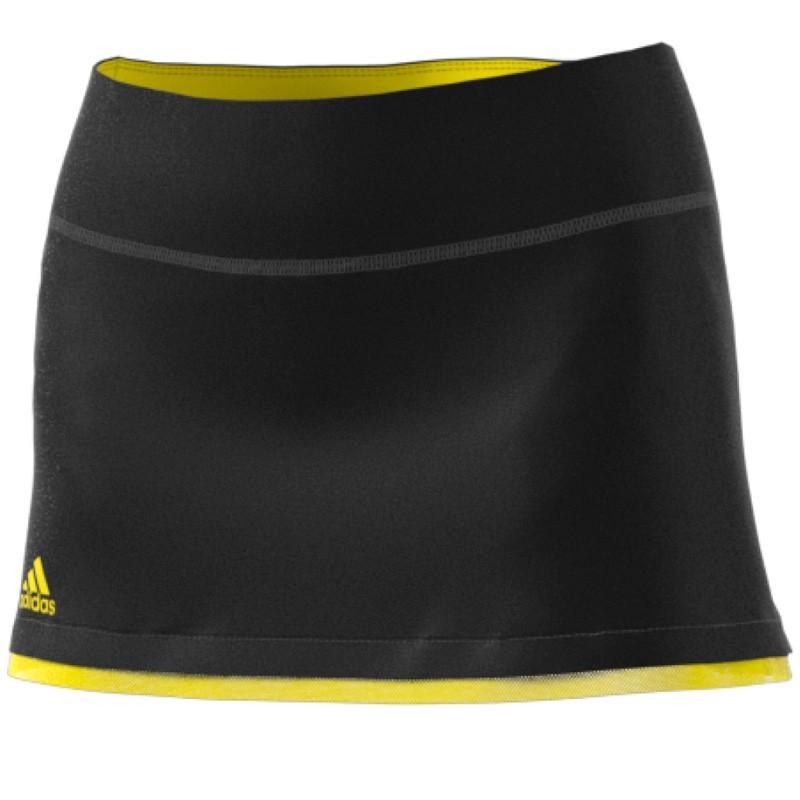 Comprar Falda Adidas US Series Negra y amarilla 2017 - Zona de Padel ff643bd3a51