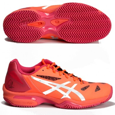Zapatillas Gel Lima Padel Flash Coral Silver Women 2017