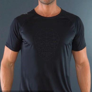 Camiseta Feisty Skull Black 2017
