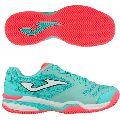 Zapatillas T.SLAMW Lady 705 Turquesa Clay 2017