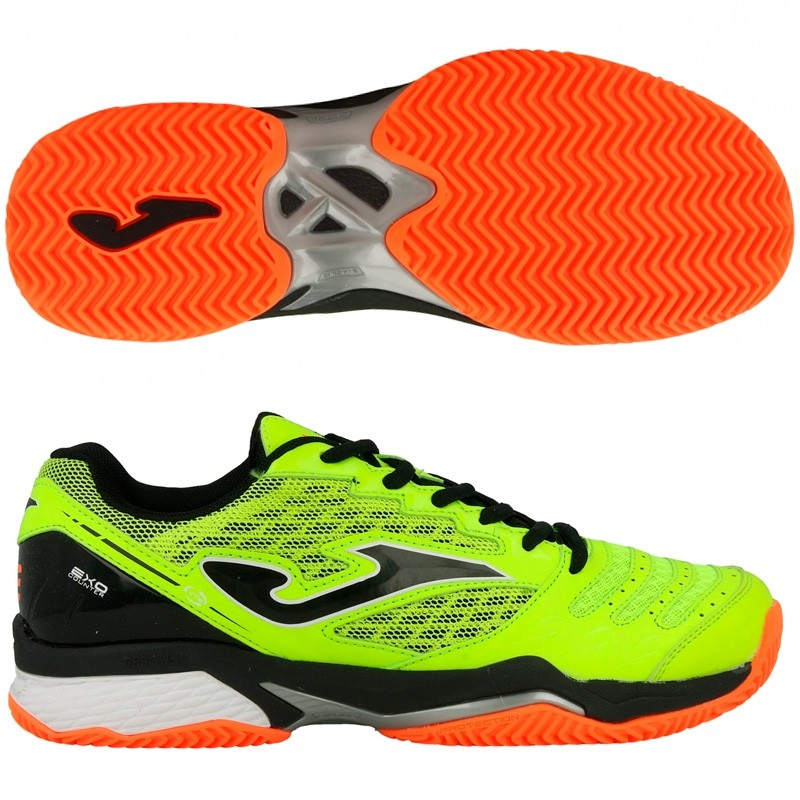 Zapatillas Joma T.ACE 711 Amarillo Fluor Clay 2017