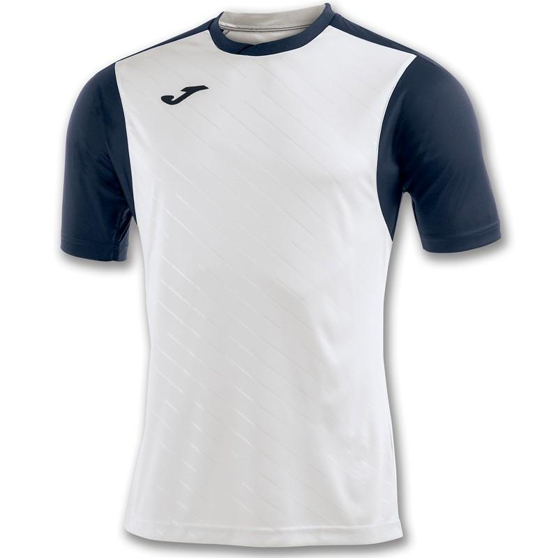 Camiseta Joma Torneo II Blanco / Marino 2017