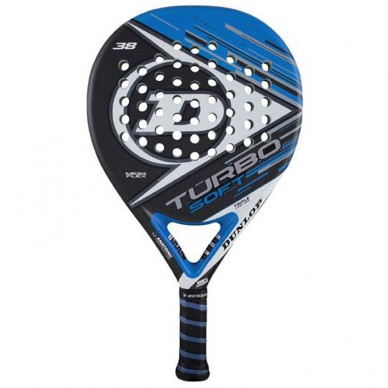 Palas de padel Dunlop  Turbo Soft Blue 2017