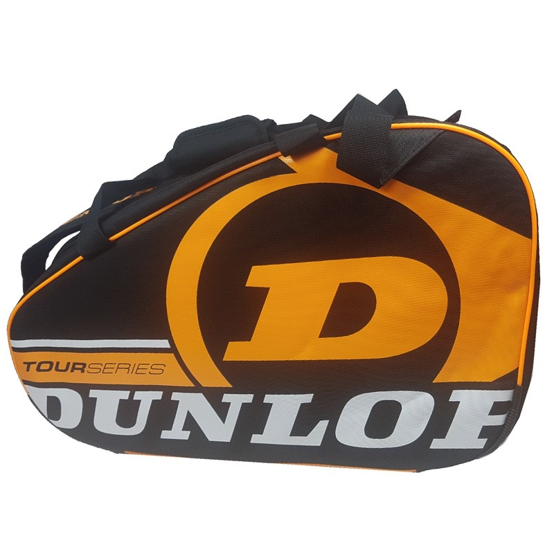 Paletero Dunlop Tour Competition Black / Orange 2017