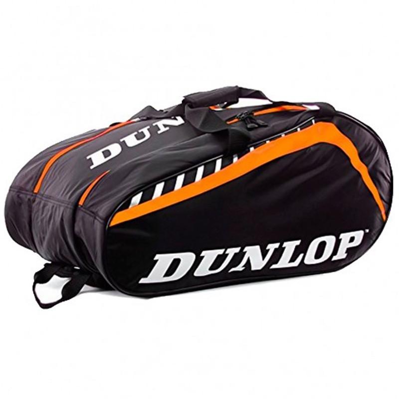 Paletero Dunlop Play Black / Orange 2017