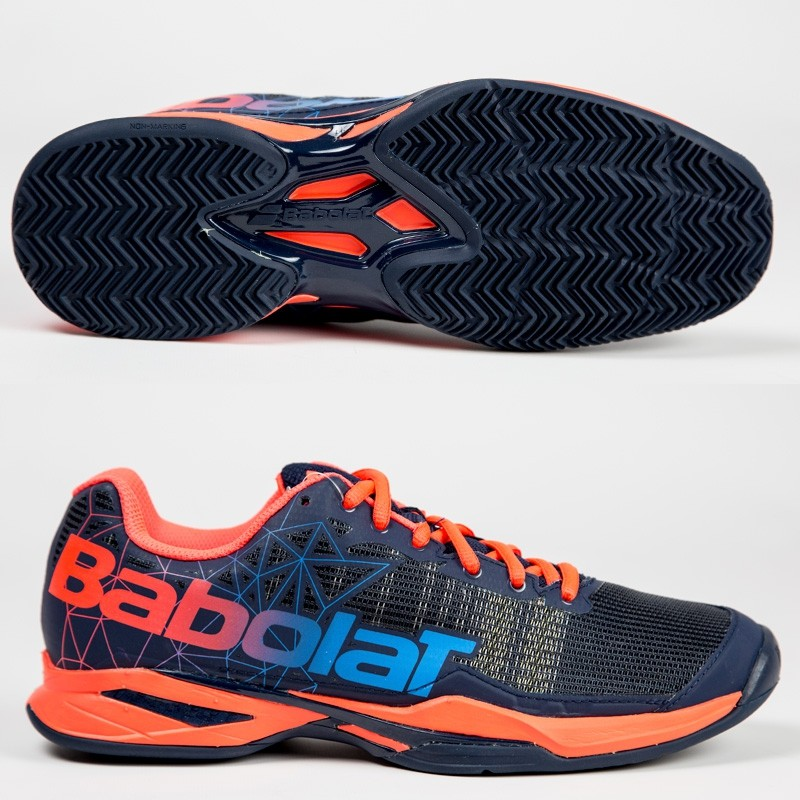 Zapatillas Babolat Jet Team Padel Men Bleu Rouge 2017