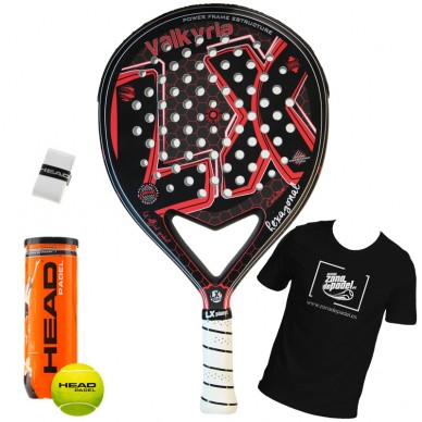 Palas de padel LX  Valkyria Evolution Hexagonal Mate 2018
