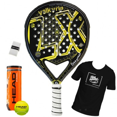 Palas de padel LX  Valkyria High Evolution Hexagonal 2018