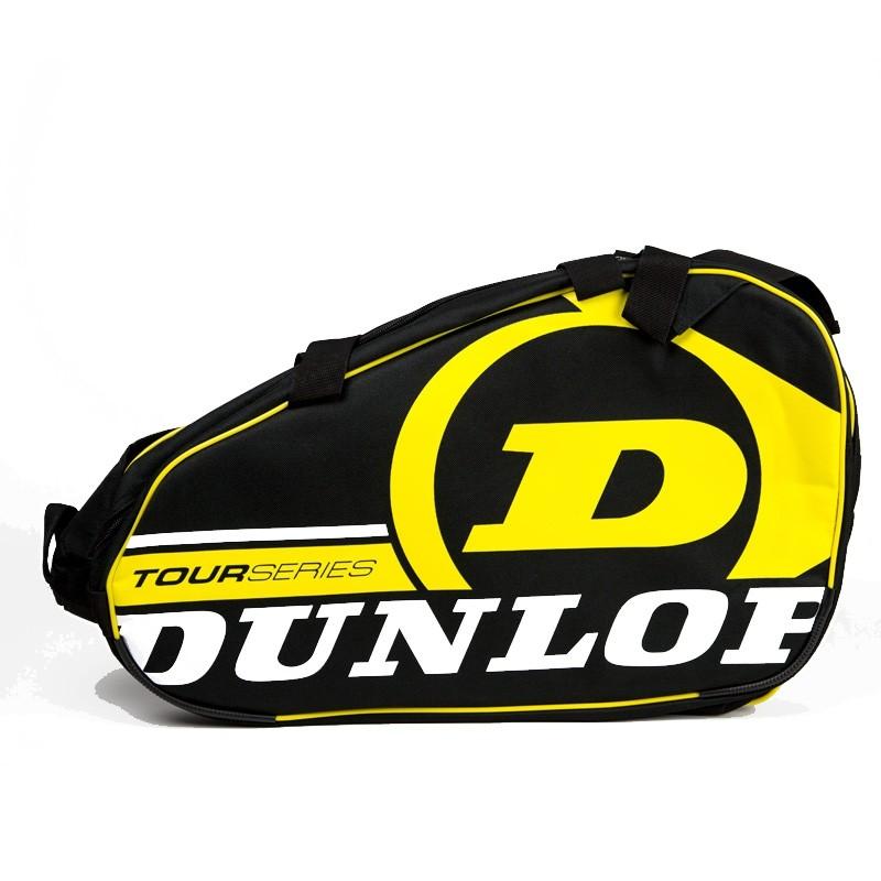 Paletero Dunlop Tour Competition Black / Yellow 2018