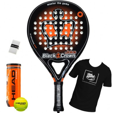 Palas de padel Black Crown Joke 2018