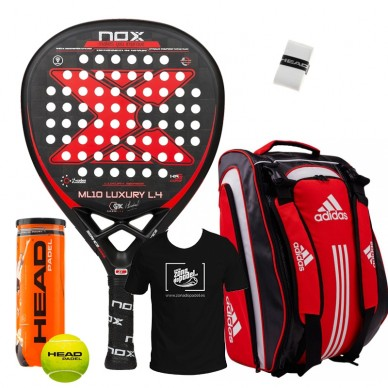 Pack Nox ML10 Luxury + Paletero Carbon Attack