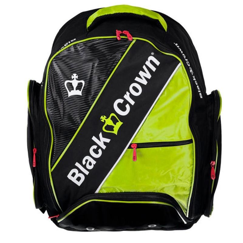 Mochila BlackCrown Sack Negra Amarilla