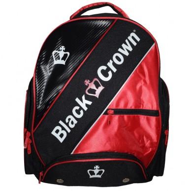 Black CrownMochila Sack Negra Roja