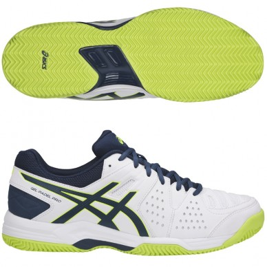 Asics Gel Padel Pro 3 SG White / Safety Hell 2018
