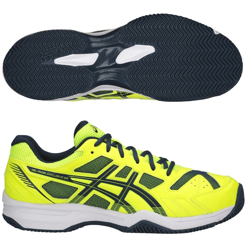 Zapatillas Asics Gel Padel Exclusive 4 SG Safety Yellow 2018