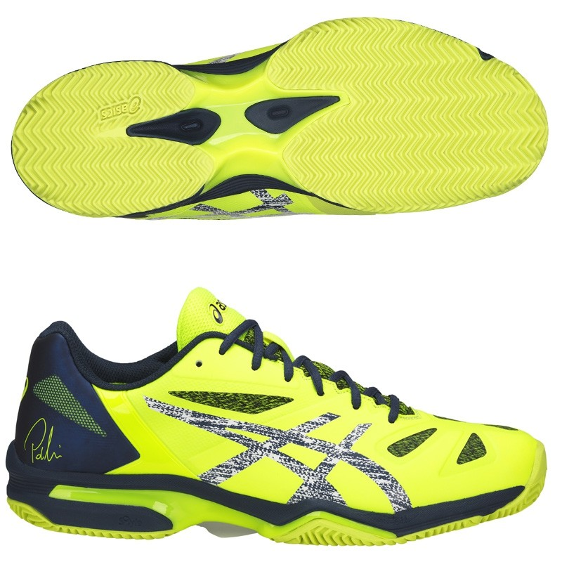 Zapatillas Asics Gel Lima Padel Safety Yellow 2018