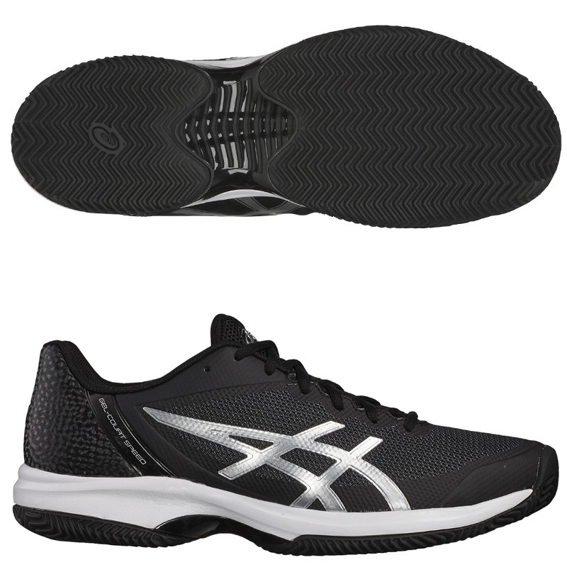 Zapatillas Asics Gel Court Speed Clay Black Silver 2018