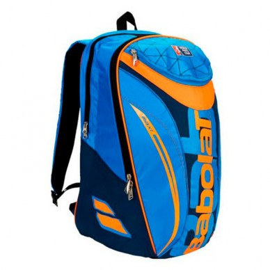 Mochila Maxi Club Padel WPT Orange Bleu 2017