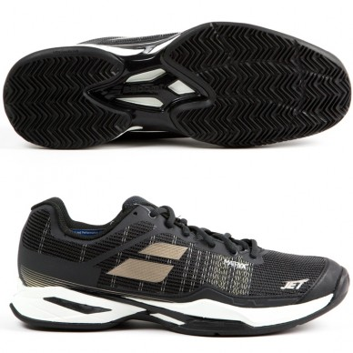 Zapatillas Jet Match I Clay Men Black / Champain 2018