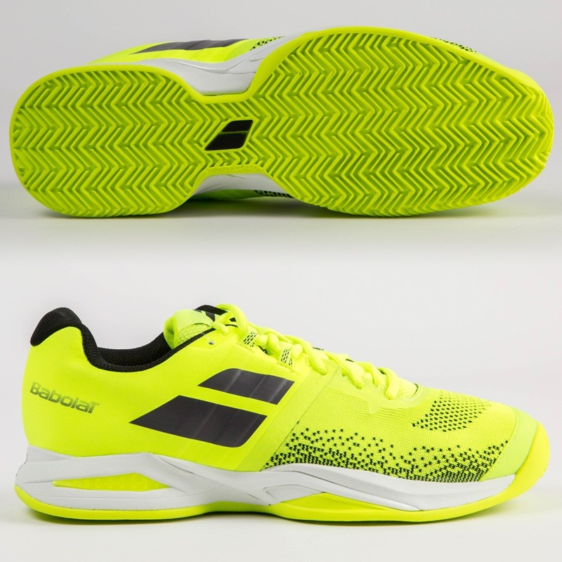 Zapatillas Babolat Propulse Blast Clay Men Fluor Yellow 2018