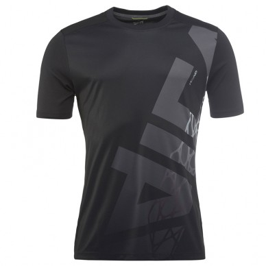 Camisetas Head Vision Radical T-Shirt BK M 2018