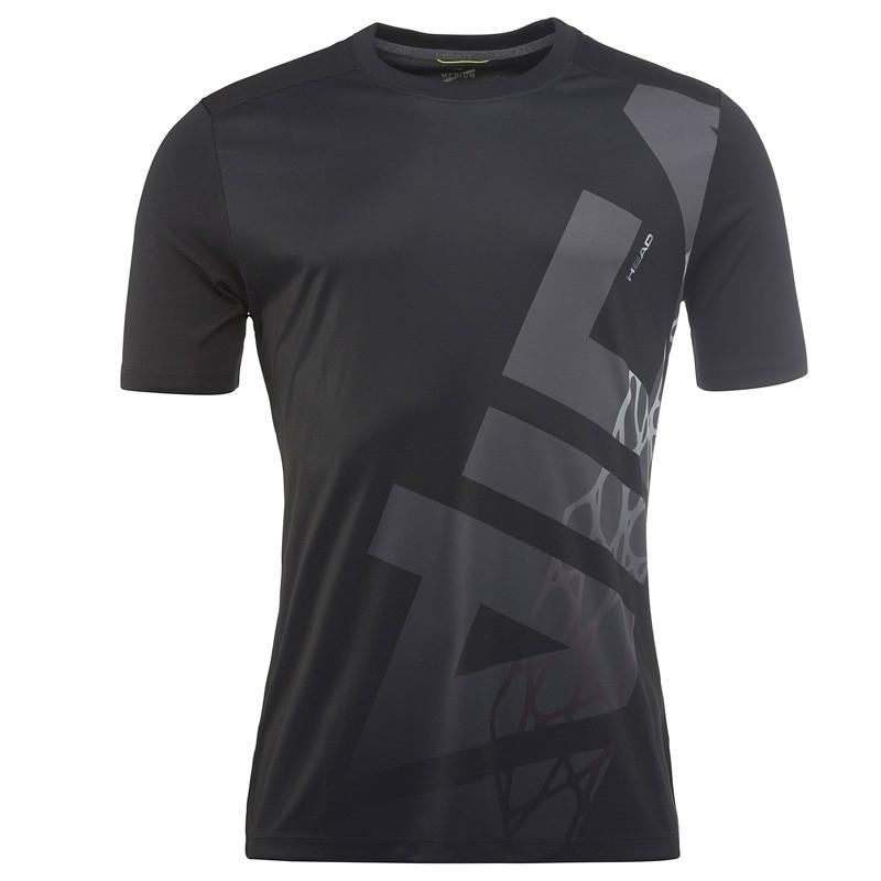 Camiseta Head Vision Radical T-Shirt BK M 2018