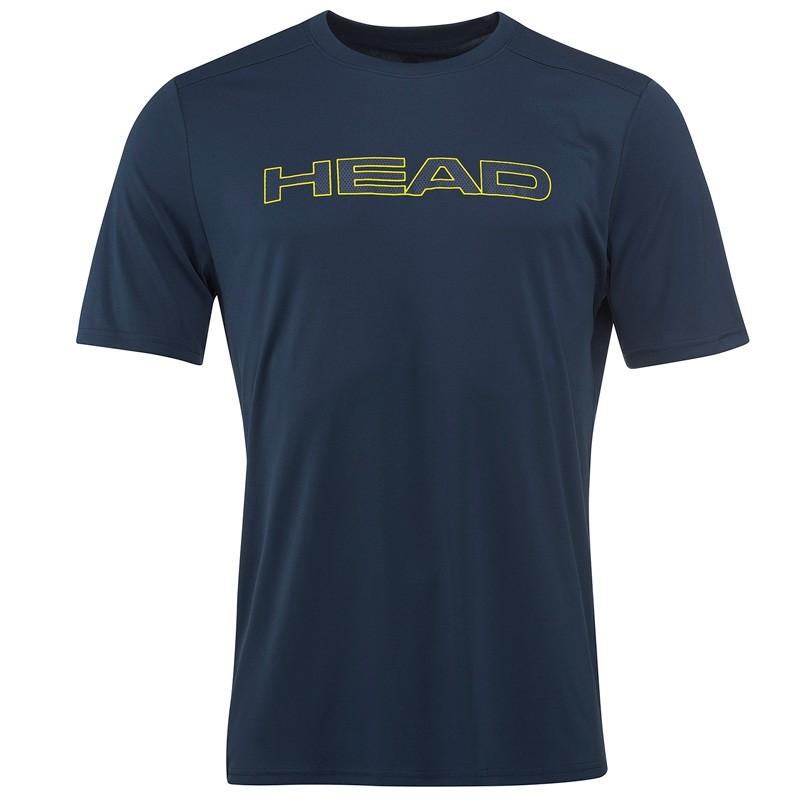 Camiseta Head Basic Tech T-Shirt NV M 2018