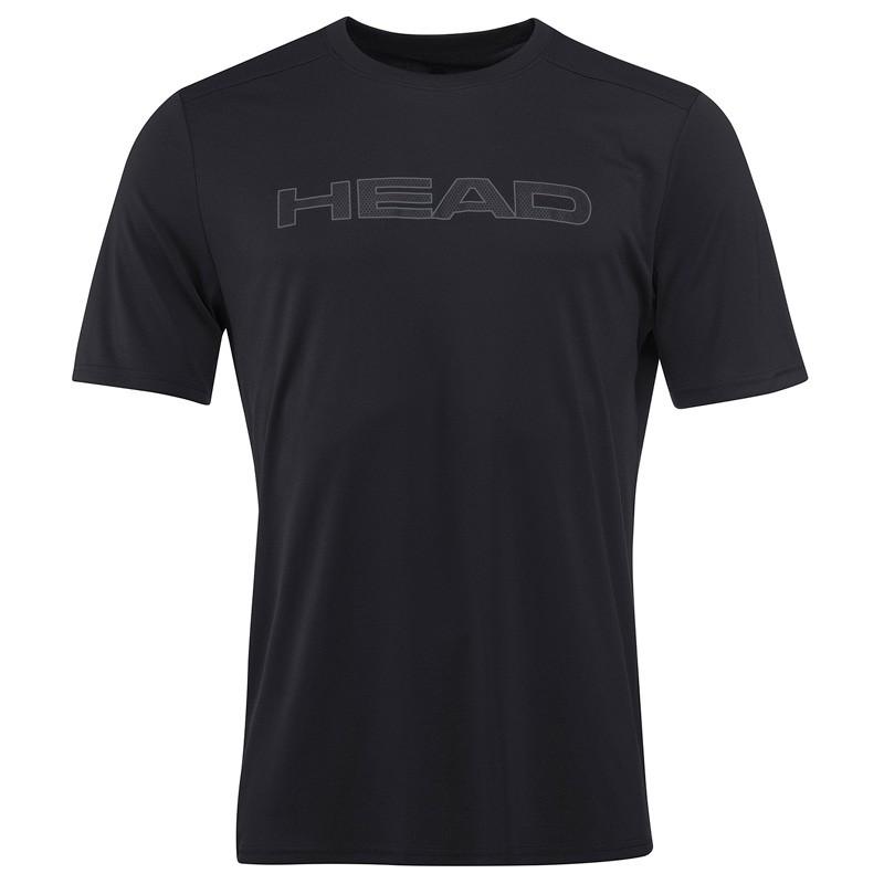 Camiseta Head Basic Tech T-Shirt BK M 2018