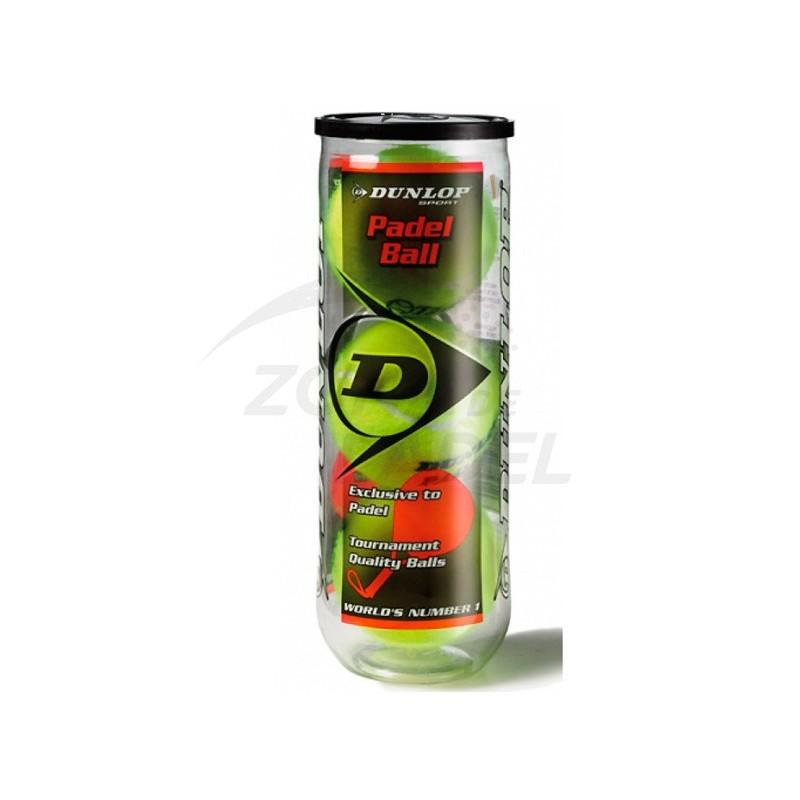 Pelotas Dunlop Pádel 3 unidades