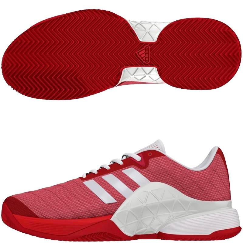 buy online c929d 05632 Zapatilla Adidas Barricade Scarle Ftwwht Scarle 2018