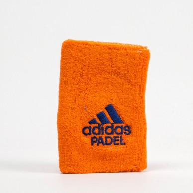 Adidas Muñequera Wristband L Orange 2018