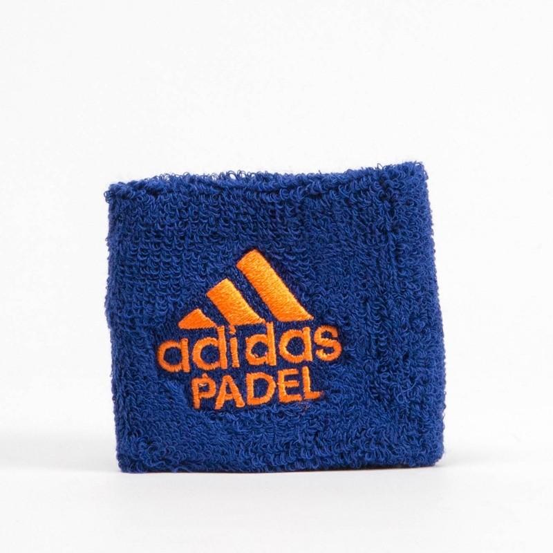 Muñequera Adidas Wristband S Blue 2018