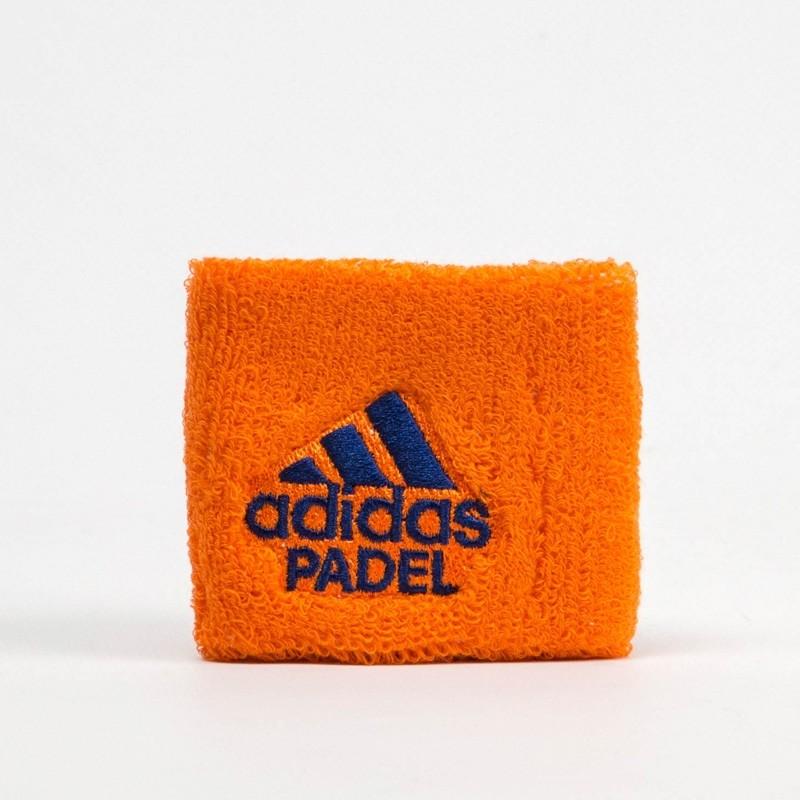 Muñequera Adidas Wristband S Orange 2018