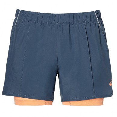 AsicsPantalon Short Smoke Blue 2018
