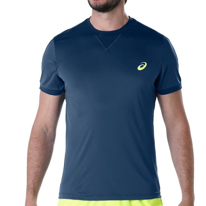 Asics camiseta Silver SS Top Flash Coral Fluor mujer