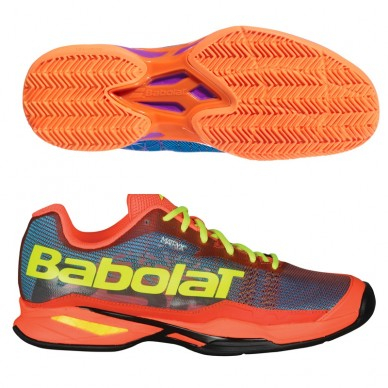 Babolat Jet Team Padel M Blue Orange 2018