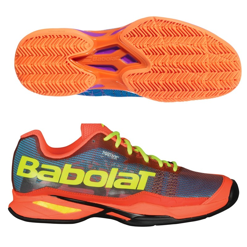 Zapatilla Babolat Jet Team Padel M Blue Orange 2018