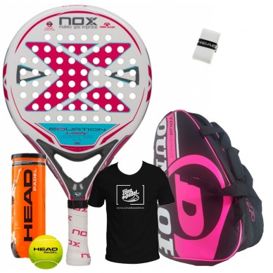 Pack Nox Equation Lady + Paletero Competition Pink