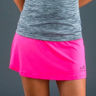 Faldas y vestidos de padel  Skirt Minimal Pink 2018
