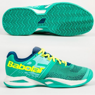 Zapatilla Propulse Blast Padel W Green / White 2018