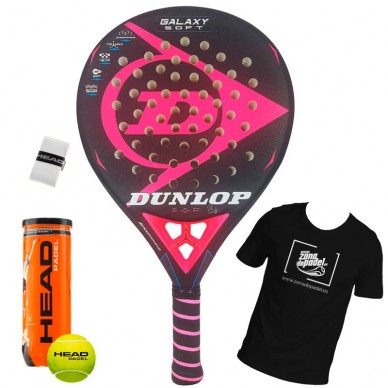 Palas de padel Dunlop  Galaxy Soft 2018