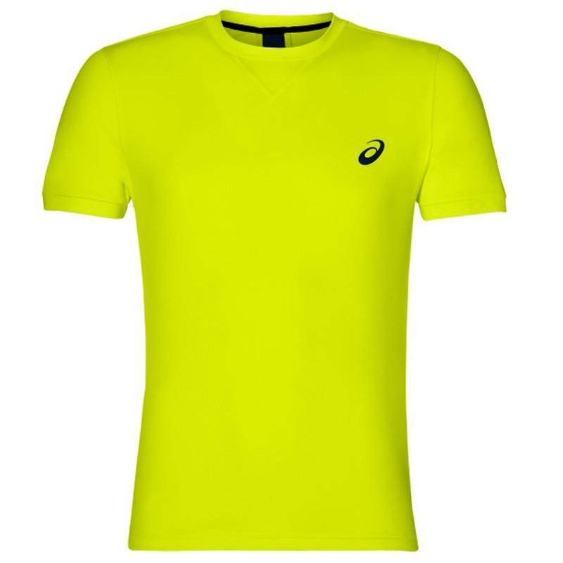 Camiseta Asics SS Top Safety Yellow 2018
